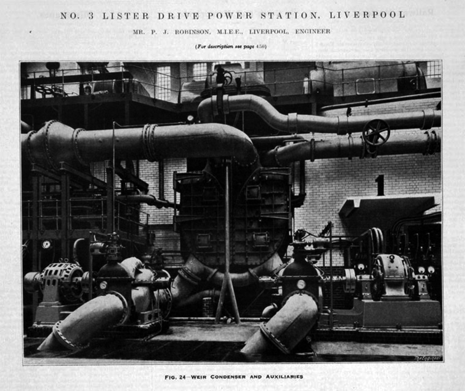 Lister Drive Number Three 1933